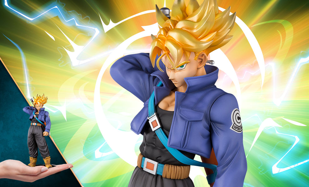 Gallery Feature Image of Super Saiyan Trunks Collectible Figure - Click to open image gallery