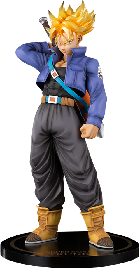 Bandai Super Saiyan Trunks Collectible Figure