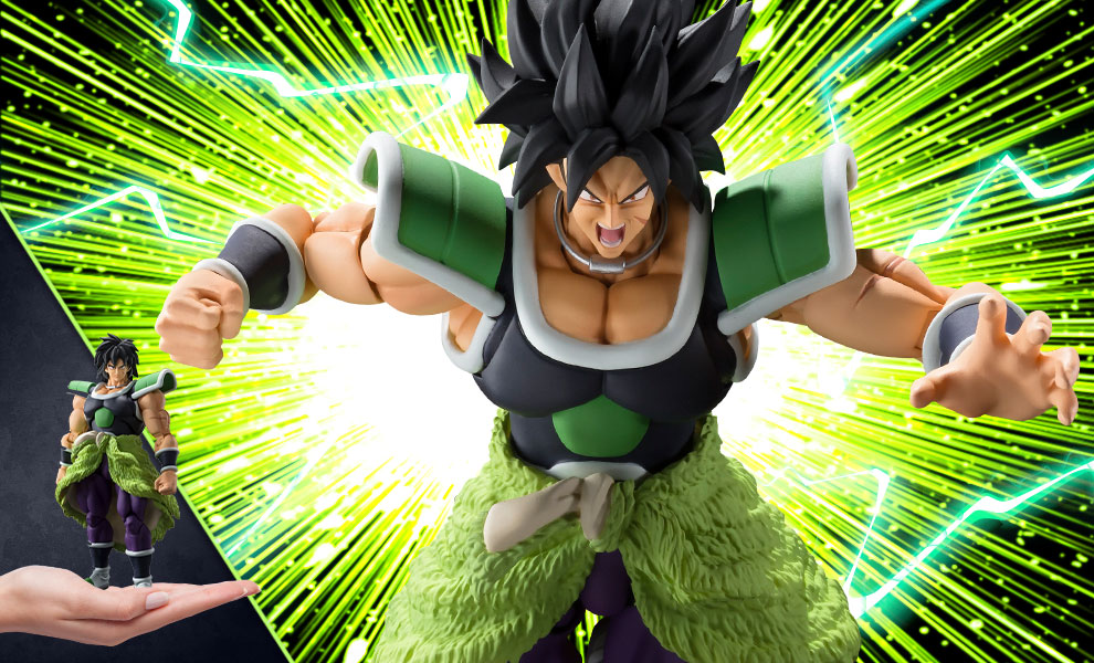 Gallery Feature Image of Broly (Super) Collectible Figure - Click to open image gallery