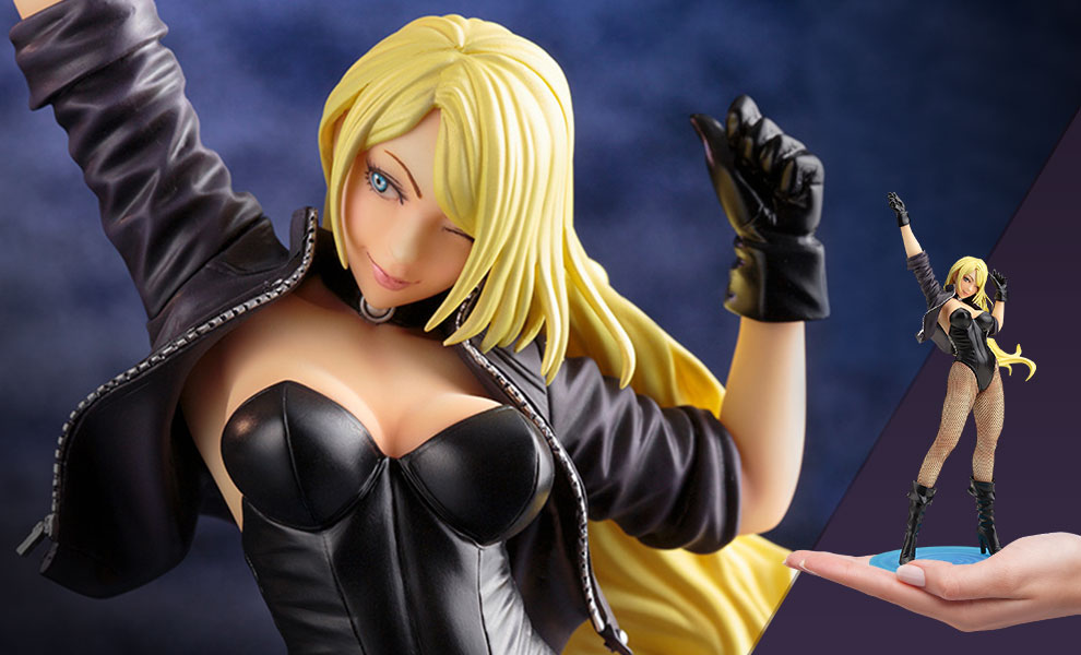Gallery Feature Image of Black Canary (2nd Edition) Statue - Click to open image gallery