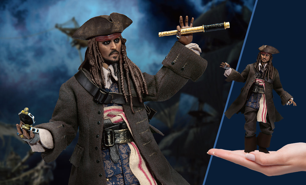 Gallery Feature Image of Jack Sparrow Action Figure - Click to open image gallery