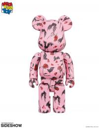 Gallery Image of Be@rbrick Kidill × Eri Wakiyama Bat & Rose Pink 100% & 400% Collectible Set