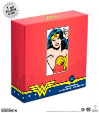 Gallery Image of Wonder Woman Silver Coin Silver Collectible