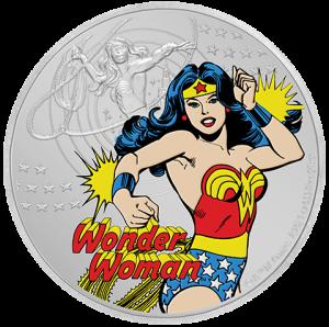 Wonder Woman Silver Coin Silver Collectible