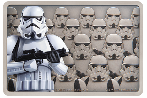 New Zealand Mint Stormtrooper Silver Coin Silver Collectible