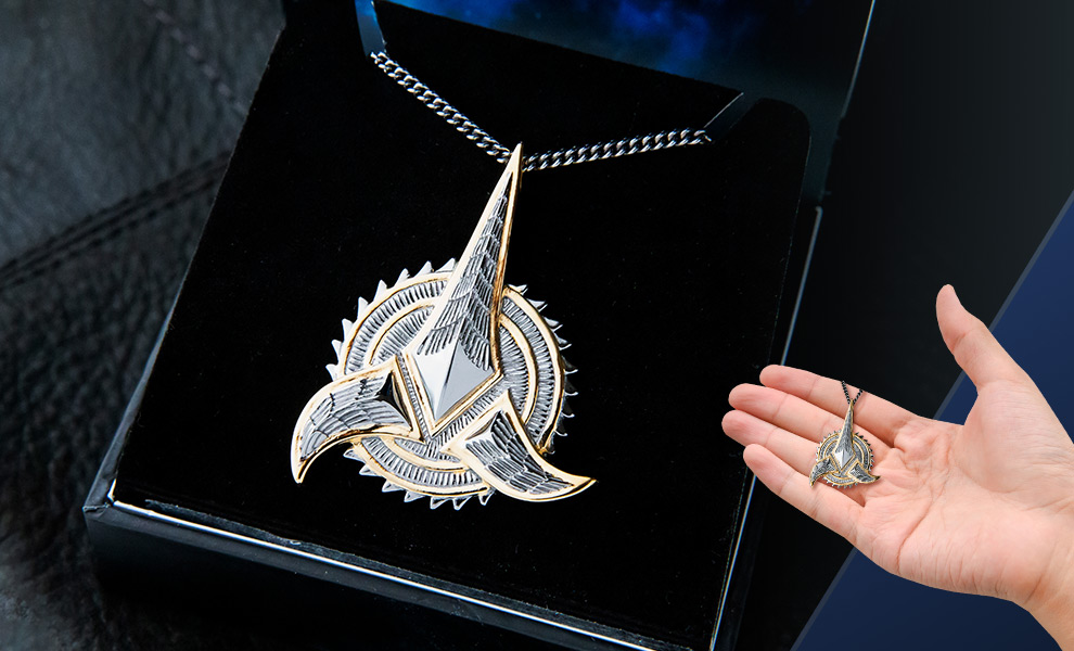 Gallery Feature Image of Klingon Necklace Jewelry - Click to open image gallery