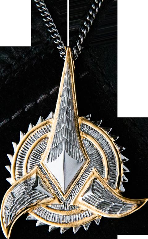 RockLove Klingon Necklace Jewelry
