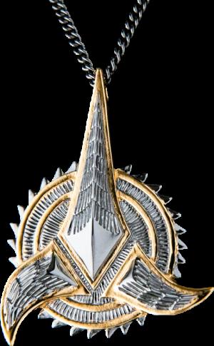 Klingon Necklace Jewelry