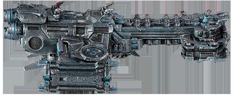 Dark Horse Comics Terran Battlecruiser Ship Replica