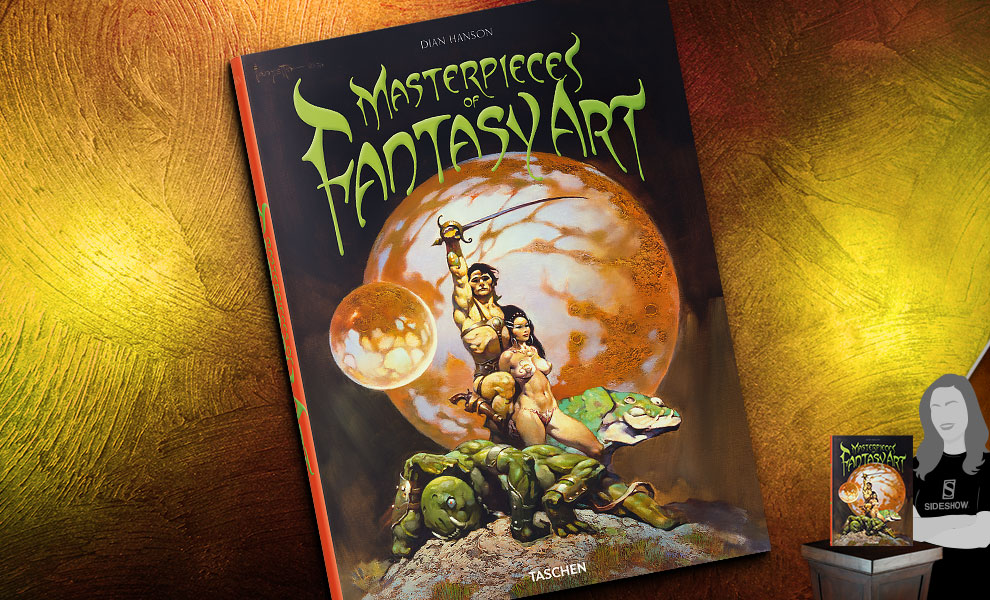 Gallery Feature Image of Masterpieces of Fantasy Art Book - Click to open image gallery