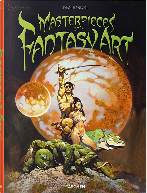 TASCHEN Masterpieces of Fantasy Art Book