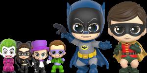Batman, Robin, and Villains Collectible Set