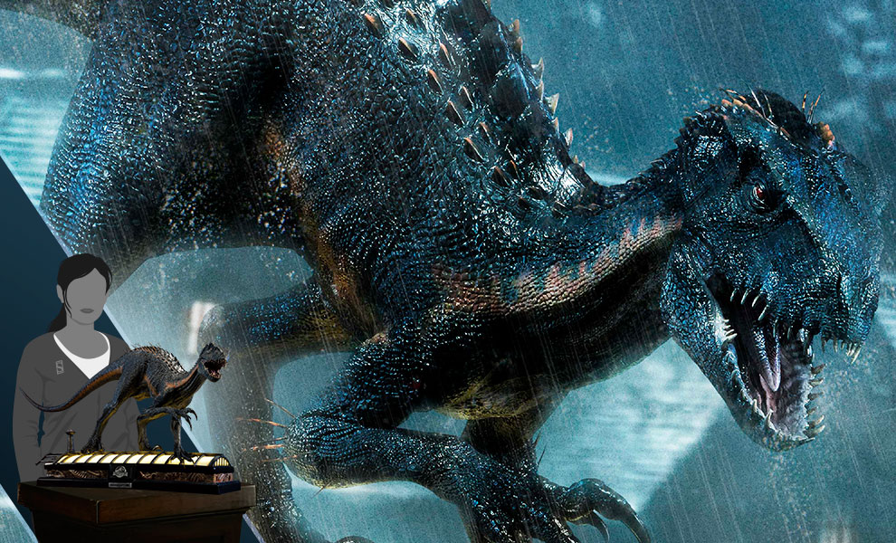 Gallery Feature Image of Indoraptor Statue - Click to open image gallery