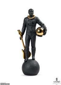 Gallery Image of Walking on the Moon (Black & Gold) Figurine