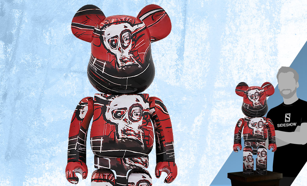Gallery Feature Image of Be@rbrick Jean-Michel Basquiat #5 1000% Collectible Figure - Click to open image gallery