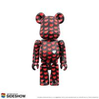 Gallery Image of Be@rbrick Black Heart 100% & 400% Collectible Set