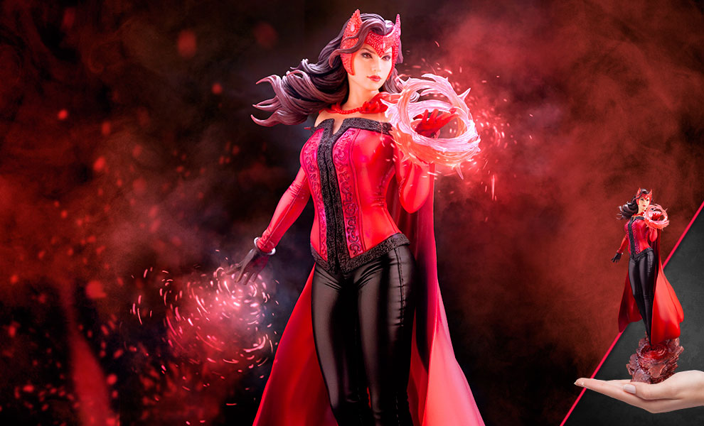Gallery Feature Image of Scarlet Witch Statue - Click to open image gallery