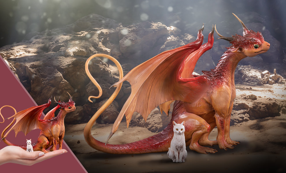 Gallery Feature Image of Dragon & Cat Collectible Set - Click to open image gallery