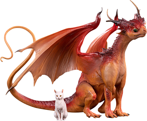 Manas SUM Dragon & Cat Collectible Set