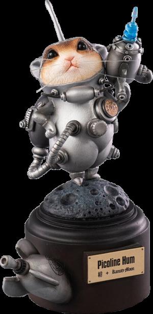Picoline Hum (Silver) Figurine