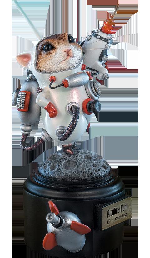 Manas SUM Picoline Hum (White) Figurine