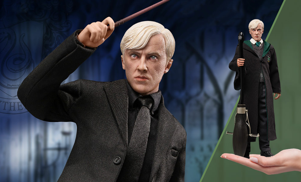 Gallery Feature Image of Draco Malfoy (Teenage Version) Deluxe Sixth Scale Figure - Click to open image gallery