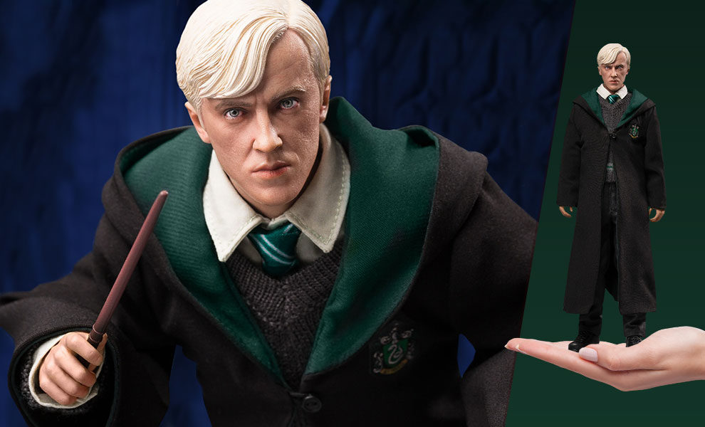 Gallery Feature Image of Draco Malfoy (Teenage School Uniform Version) Sixth Scale Figure - Click to open image gallery