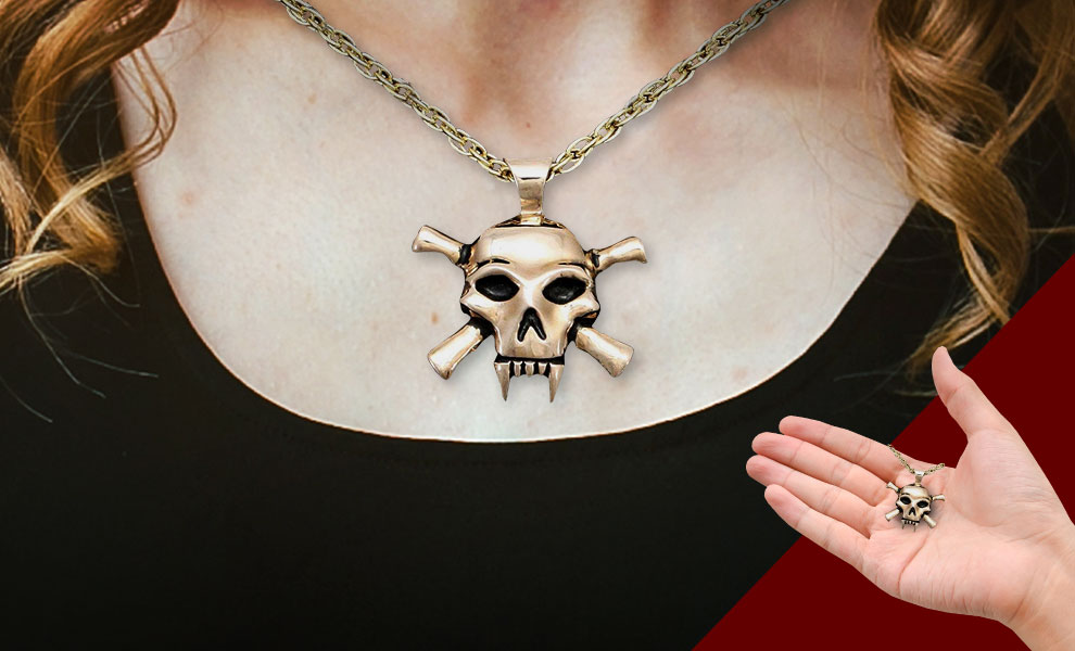 Gallery Feature Image of Lady Death Necklace Jewelry - Click to open image gallery