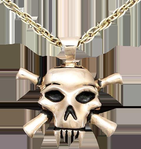 Badali Jewelry Lady Death Necklace Jewelry