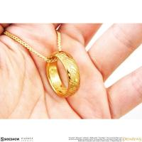 Gallery Image of The ONE RING™ Necklace (GOLLUM™ Gold) Jewelry