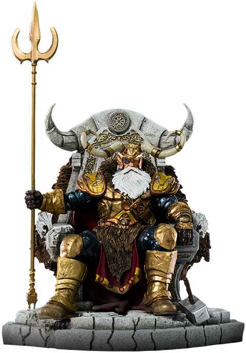 Iron Studios Odin Deluxe Statue