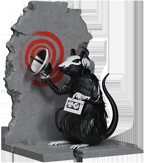 Mighty Jaxx Radar Rat Polystone Statue
