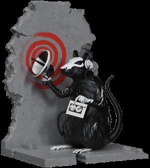 Radar Rat Polystone Statue