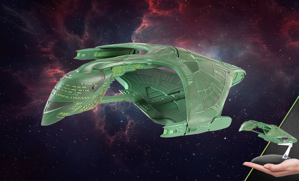 Gallery Feature Image of Romulan Warbird Model - Click to open image gallery