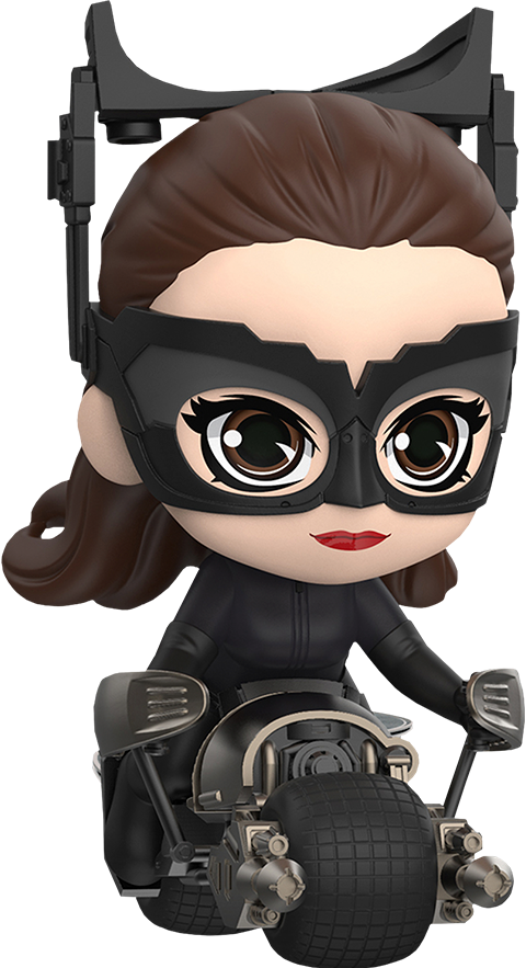 Hot Toys Catwoman with Bat-Pod Collectible Set