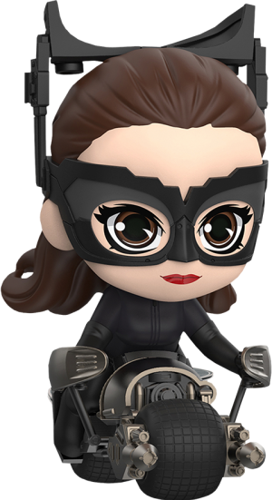 Catwoman with Bat-Pod Collectible Set