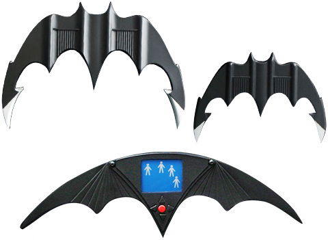 Hollywood Collectibles Group Batarang Set Prop Replica