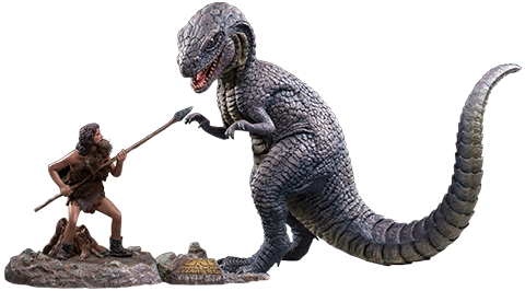 Star Ace Toys Ltd. Allosaurus & Tumak (Deluxe Version) Collectible Set