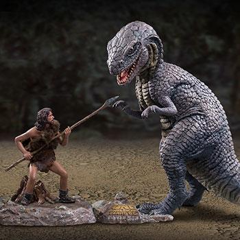 Star Ace Toys One Million Years B.C Allosaurus Figure Set Soft Vinyl Dinosaur