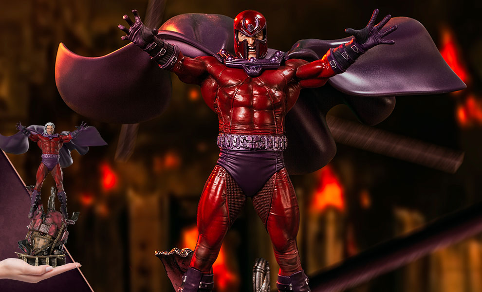 Gallery Feature Image of Magneto Deluxe 1:10 Scale Statue - Click to open image gallery