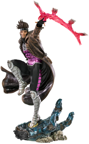 Gambit 1:10 Scale Statue