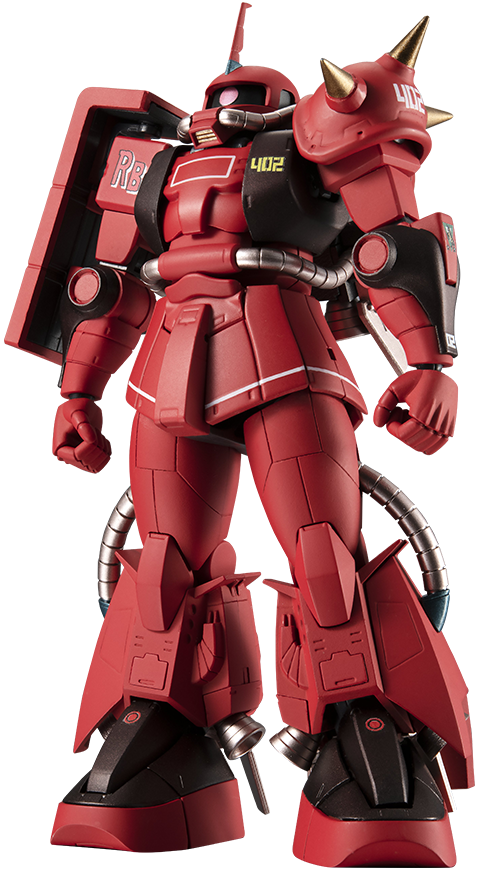 Bandai MS-06R-2 Zaku II (High Mobility Type) Collectible Figure