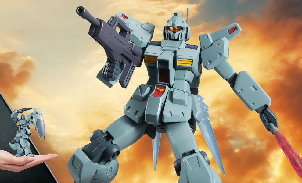 Gallery Feature Image of RGM-79N GM Custom (Version A.N.I.M.E.) Collectible Figure - Click to open image gallery