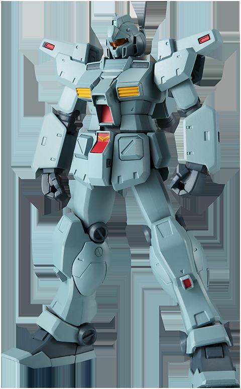 Bandai RGM-79N GM Custom (Version A.N.I.M.E.) Collectible Figure