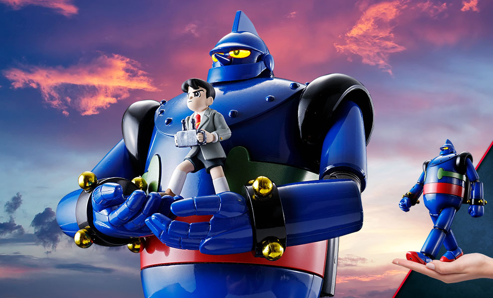 Gallery Feature Image of GX-24R Tetsujin 28-go Collectible Figure - Click to open image gallery