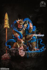 Gallery Image of Guardian of Heaven Subdues the Evil Dragon (Color) Statue