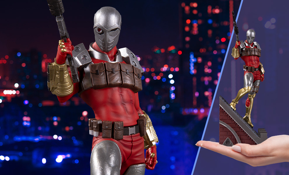 Gallery Feature Image of Deadshot Statue - Click to open image gallery