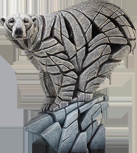 Enesco, LLC Polar Bear Edge Sculpture Statue