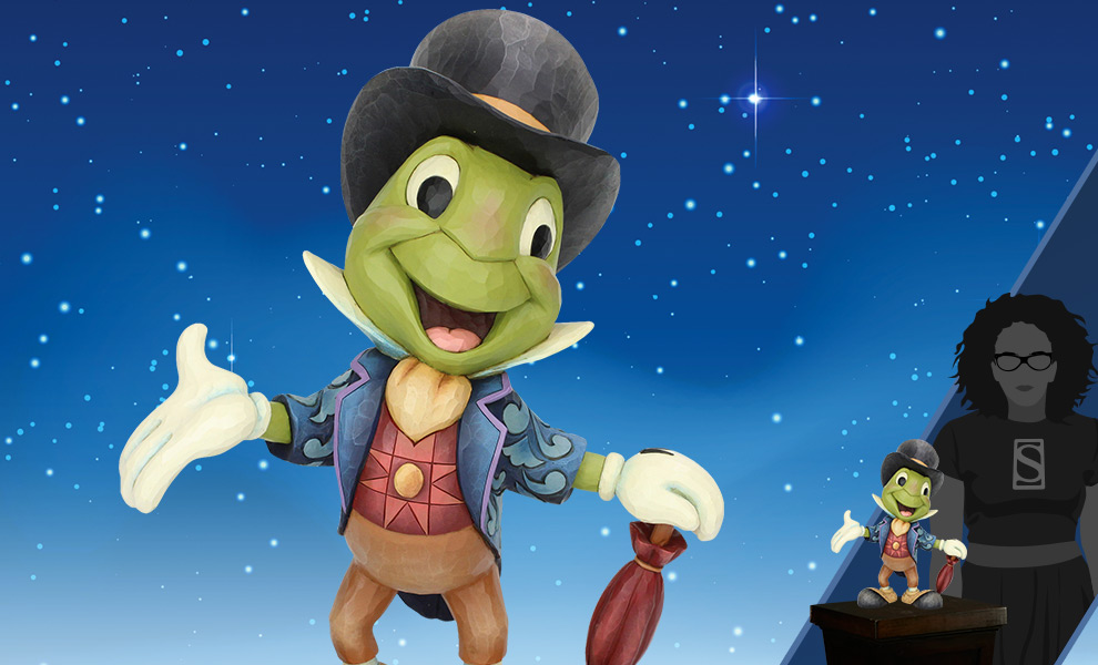 Gallery Feature Image of Jiminy Cricket Big Figurine - Click to open image gallery