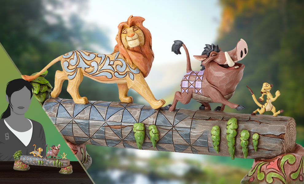 Gallery Feature Image of Simba, Timon & Pumbaa Figurine - Click to open image gallery